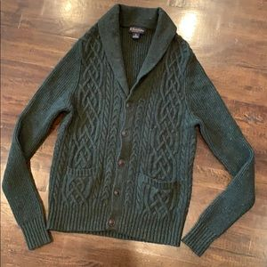 Brooks Brothers Shawl Cardigan Knit Lambswool